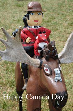 Happy Canada Day Mountie