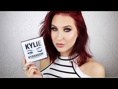 Kylie Kyshadow Palette | Tutorial + First Impressions - YouTube