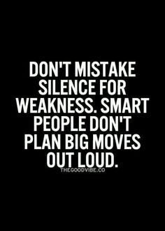 Sometimes people mistake silence for weakness. But sometimes people mistake silence for shyness or bitchiness. We can't be responsible for how people interpret us - we can do our best to live authentically and kindly, but at the end of the day we are allowed to choose to be silent when we are making changes in our lives for ourselves. #mistake #smartpeople #unstoppableme #advice #reminders #realtalk #selftalk #texttoself #thoughts #wordstoponder #wordsofwisdom #deepthoughts #wordstoliveby…