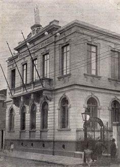 1926 São Paulo Biblioteca Municipal de São Paulo na Rua 7 de Abril
