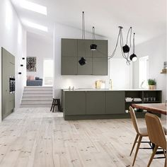 clever home design White Interior Design, Interior Exterior, Small Room Bedroom, Bedroom Decor, Kitchen Interior, Interior Design Living Room, Rustic Kitchen Design, Küchen Design, Apartment Kitchen