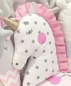 Cute unicorn pillow