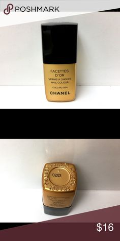 Chanel Gold Fiction Nail Polish Approximately 75% remains. Polish still has the same consistency that it had when I purchased it (back in 2008)! CHANEL Makeup