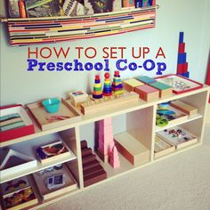 Set up a co-op preschool