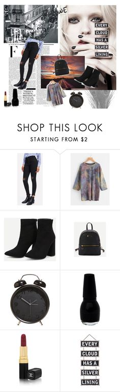"""""""Every cloud has a silver lining"""" by meri-husic ❤ liked on Polyvore featuring Calvin Klein, Nicki Minaj, Chanel and Silver Lining"""