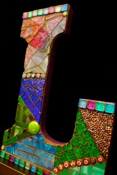 mosaic letter