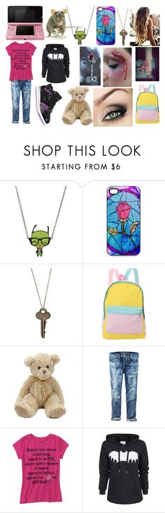 """""""Untitled #215"""" by shadowfang52 on Polyvore featuring Nintendo, ELSE, The Giving Keys, Bed Head by TIGI, American Eagle Outfitters, Zoe Karssen and FUBU"""
