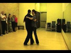 Argentine Tango Lesson - Various Change of Directions using Cross Walking