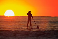 Paddle board the beautiful sunrises that Deerfield Beach offers!