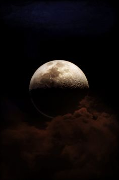 ♥ Great picture of the moon. BUT the website takes you to a fashion line url!  Its pinned for the great moon pic!