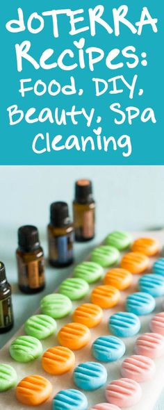 An index of 100's of doTERRA recipes - tons of food, DIY, beauty, spa and cleaning recipes