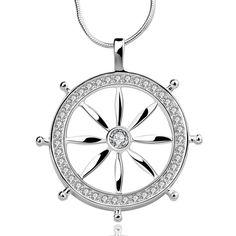 Rudder Pendant Necklace