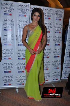 Priyanka Chopra at Lakme Fashion Week 2013 - Day 1