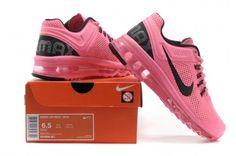 Nike Air Max 2013 Womens Pink Black Running Shoes