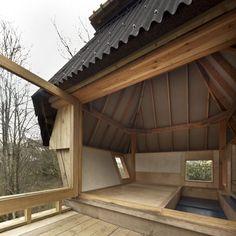 nozomi nakabayashi hut on stilts designboom