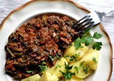 Bigos z jarmużu - Veganbanda Beef, Recipes, Food, Turmeric, Meat, Recipies, Essen, Meals, Ripped Recipes