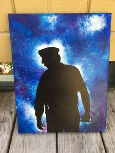 Police Officer Acrylic Painting on Canvas. A gorgeous gift idea!    https://www.etsy.com/listing/519166173/