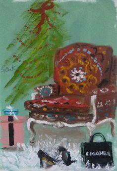 The Christmas Chair