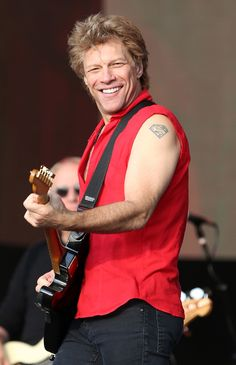 Jon Bon Jovi - Barclaycard Present British Summer Time Hyde Park - Day 1