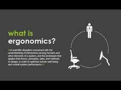 הרצאה שעוסקת בעיצוב והנדסת אנוש, סרטון באנגלית Ergonomics and Design - YouTube