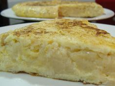 Ca Geles: TORTILLA DE COLIFLOR Fast Healthy Meals, Healthy Recipes, Sin Gluten, Tapas, Banana Bread, Side Dishes, French Toast, Good Food, Low Carb