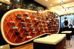 Vans Shoe Display-awesome i want this in my room with the shoes