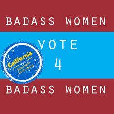 California #BadAss #PaulaVillescaz needs your vote.