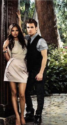 Elena and Stefan | Vampire Diaries