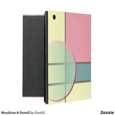 Mondrian & Pastell Etui Fürs iPad Piet Mondrian, Ipad, Office Supplies, Constructivism, Graphics, Pastel