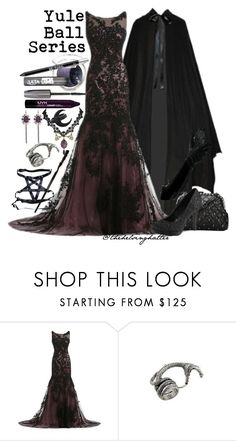 """Yule Ball Series: Lace Enchants"" by thehelsinghatter ❤ liked on Polyvore featuring The Body Shop, ULTA, NYX and Urban Decay"