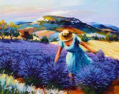Resultado de imagem para christian jequel - lavender field