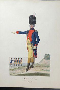 Nicolas Hoffmann, Gendarme d'élite, 1807.