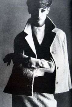 Jean Shrimpton by David Bailey April 1963 Vogue UK