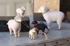 "3"" German Sheep Ornament"