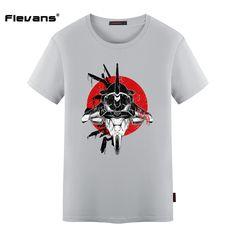 Flevans Anime T-shirt for Man NEON GENESIS EVANGELION Fashion Men Brand Clothing Short Sleeve Cotton T Shirt Mens Tops Tees #Affiliate