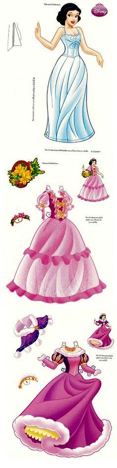 Paper Doll - Disney