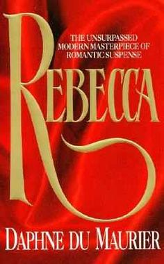 Rebecca. Possibly the most well known opening sentence of any novel. I do enjoy the novel but find Max's wife so bloody irritating, I just want to give her a good slap and I have a feeling Rebecca would have done just that