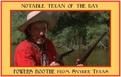 Powers Boothe.......