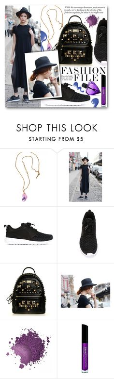 """""""Street Style"""" by black-fashion83 ❤ liked on Polyvore featuring Tilly Doro, NIKE, Bare Escentuals, Diesel, polyvoreeditorial and crystaljewelry"""