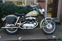1955 Harley-Davidson KHK model Gotta love the classics