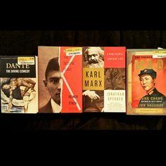 Goodie bag today. Biographies.  #DanteAligheri #Dante #DivineComedy #Kafka #TheDecisiveYears #ReinerStach #KarlMarx #ANineteenthCenturyLife #JonathanSperber #Mao #MaoTseTung #TheUnknownMao #JungChang #JonHalliday #Biography #Portrait #Philosophy #Linguistics #Epistemology #Ontology #Theology #History #Politics #German #Czech #Chinese #MakeYourOwnHistory #Motivation #Everyday #Discipline #Willpower #Persistence #Art #Music #Writing #Film #Master #iKreate #Vacarme…