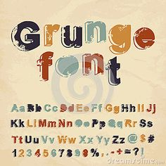 http://www.dreamstime.com/stock-images-retro-grunge-font-image28791974