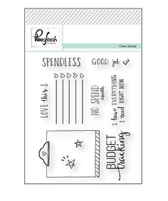 Reveal Day3 : Clear stamps – Pinkfresh Studio