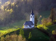 Little church on a hill by Jay364, via Flickr