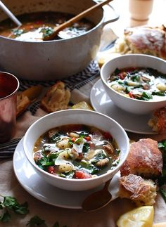 Gnocchi and Chicken Sausage Soup