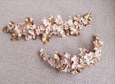 Tocados Le Touquet Bridal Headdress, Fascinator Headband, Diy Headband, Boho Wedding Hair, Headpiece Wedding, Bridal Hair, Hair Jewelry, Bridal Jewelry, Fashion Jewelry