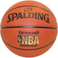 Spalding Hexigrip Never Flat Basketball 73-792E 29.5 Inch