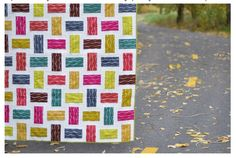 Crossed Paths, a rail fence quilt {tutorial}