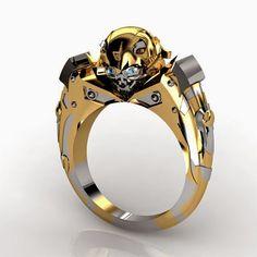rogeriodemetrio.com: Anel Transformers Bumblebee banhado a ouro
