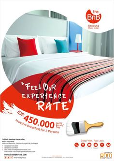 Get ready to get the Opening Rate for THE BnB Bandung Metro Indah, only Rp 450.000 nett! Open soon!